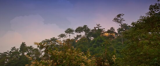 A cottage on the top of the Mountain by srijanrc
