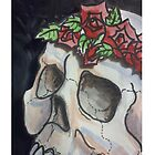 Skull and Roses by dvampyrelestat