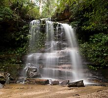 Federal Falls, Lawson, NSW, Australia by David Mapletoft