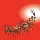 Love Red Rose by ants1973