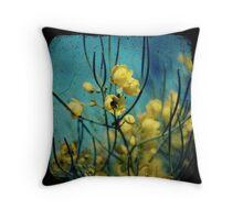 Desert Cassia Throw Pillow