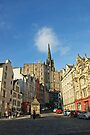 The Grassmarket, Edinburgh, Scotland by David Alexander Elder