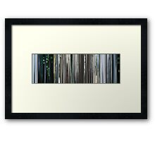 Moviebarcode: The Animatrix 4 Kid's Story (2003) Framed Print