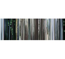 Moviebarcode: The Animatrix 4 Kid's Story (2003) Photographic Print