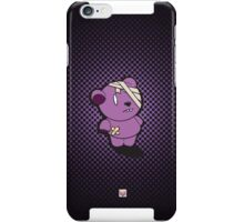 Purple Dead Bear iPhone Case/Skin