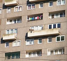 Multi Story Washing Line by ElsT