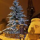 White Christmas Night by Emazevedo