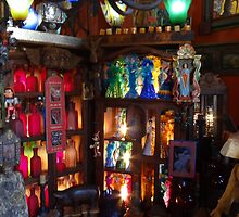 Decorative arts - shopping in Puerto Vallarta  by Bernhard Matejka