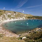 Lulworth Cove by Andrew Duke