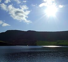 Sunshine Over Dovestones Reservoir by dawnandchris