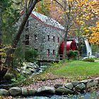 Sudbury Grist Mill by Steve Borichevsky