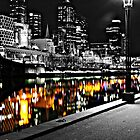 reflections on the yarra by Steve Scully