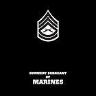 USMC E7 GySgt BW by Sinubis