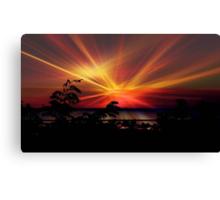 Star Sunrise © Canvas Print