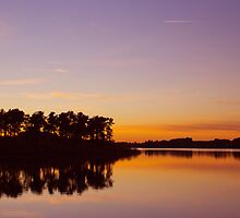Serene Sunset by Lynne Morris