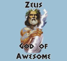 Zeus - God of Awesome by HighDesign