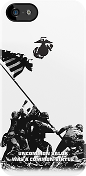 USMC WWII Iwo Jima Cut Out by Sinubis