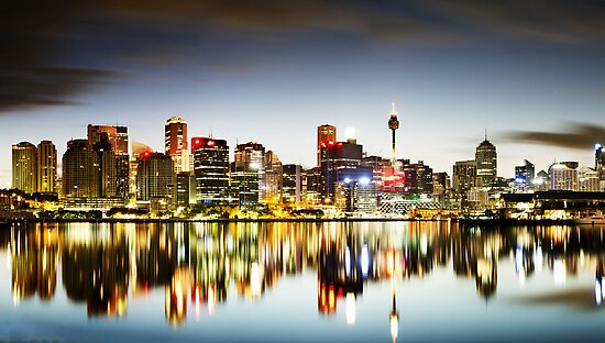 The Luminous City by Mark  Lucey