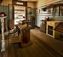 A Quiet Day At the Barber Shop by Jeff Catford