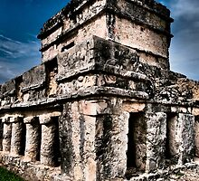 Tulum Ruinas 1 by Skip Hunt