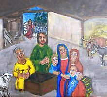 Nativity  by micheline