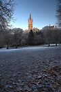 Kelvingrove Winter (1) by Karl Williams