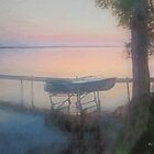 Lake Mist at Sunrise by RC deWinter