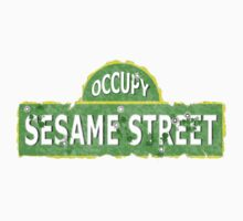 Occupy Sesame Street by weirdpuckett