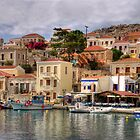 Chalki Waterfront by Tom Gomez