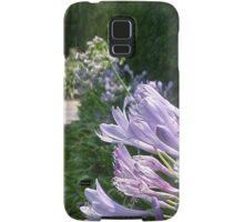Purple Flowers... Samsung Galaxy Case/Skin