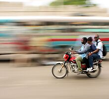 Sometimes Haiti is a Blurrrrrrrr by Kent Nickell