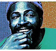 MARVIN GAYE-COLOURS by OTIS PORRITT