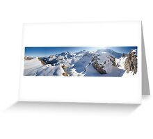 Fall in the Alps Greeting Card
