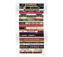 Stereo Stack Poster/Print #1 Poster