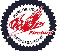 Pure Firebird Racing Gasoline vintage sign reproduction by htrdesigns