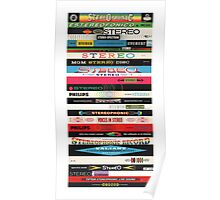 Stereo Stack Poster/Print #2 Poster