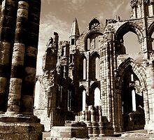 Whitby Abbey by FritzFitton