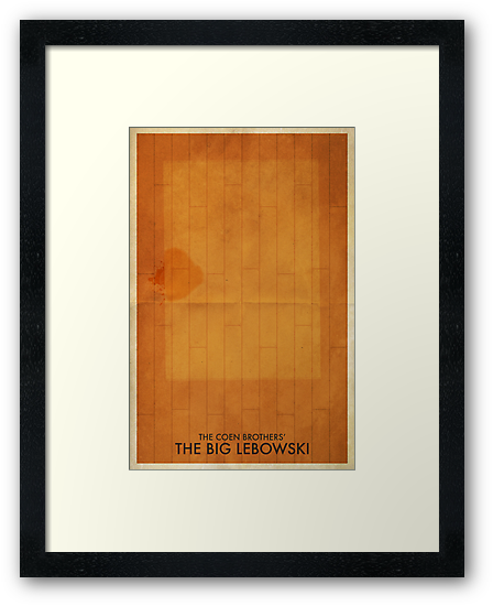The Big Lebowski Minimal Poster by timcostello