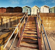 Good Morning Huts! by Andy Freer