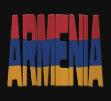 Armenia flag by stuwdamdorp