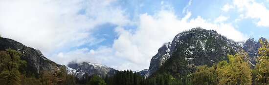 Yosemite Panorama by Jem Wright