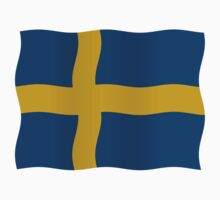 Swedish flag by stuwdamdorp