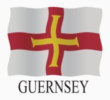 Guernsey flag by stuwdamdorp