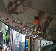 Times Square - A Different Dimension by David McMahon
