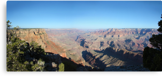 Grand Canyon Panorama by Jem Wright