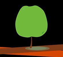 Green Apple Tree iPhone Case by Denis Marsili - DDTK
