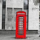 Red Telephone Box 1 by Zoe Toseland