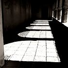 Shadows of a Colonnade by Michele Filoscia