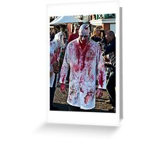 The Butcher Greeting Card