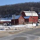 Wisconsin Red Barn by Dan Wagner